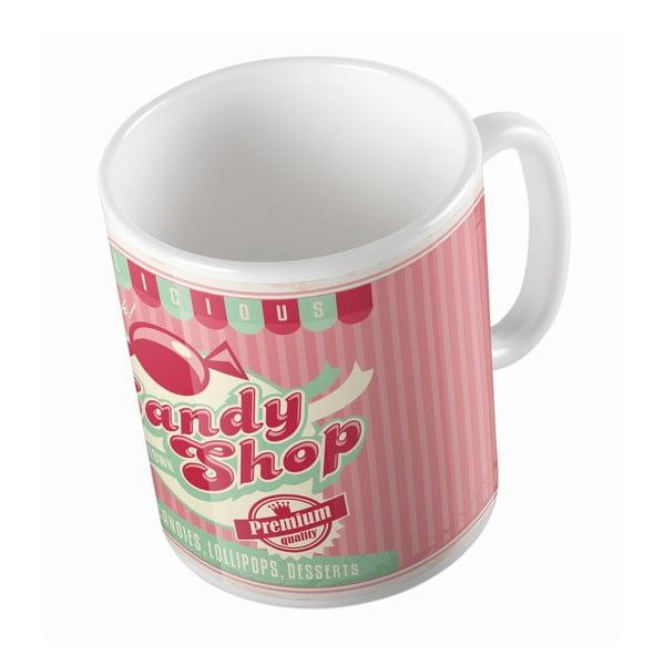Keramický hrnček Candy Shop, 330 ml