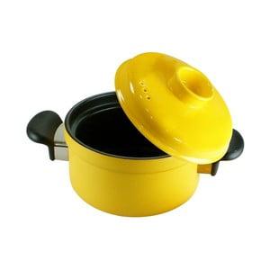 Hrniec s pokrievkou Yellow Pot