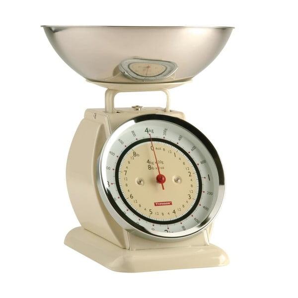 Béžová kuchynská váha Typhoon Bella Scales