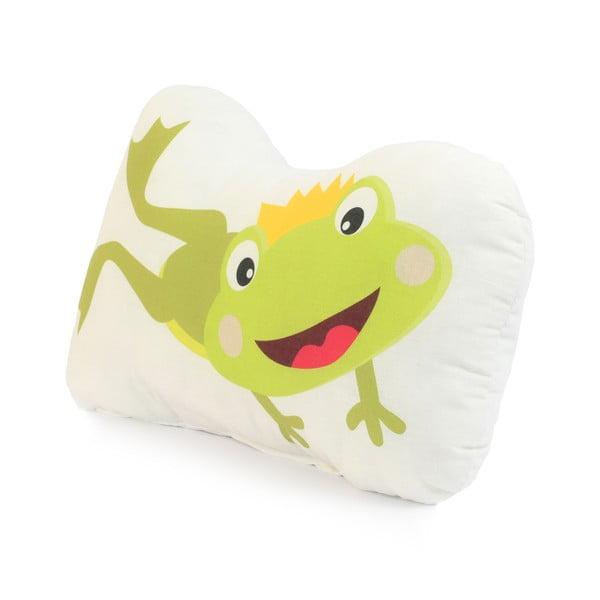 Bavlnený vankúšik Mr. Fox Happy Frogs, 40 x 30 cm