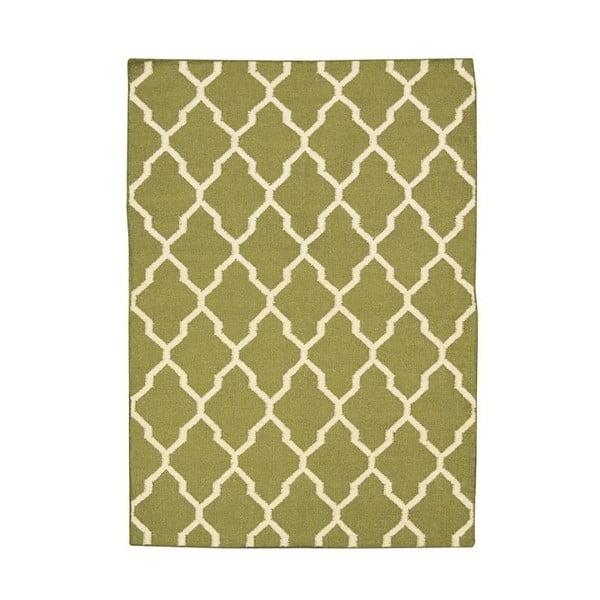 Vlnený koberec Kilim no. 055, 90x160cm