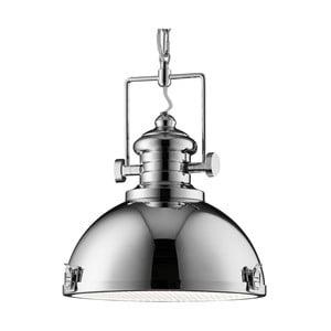 Stropné svietidlo Searchlight Industrial, chromovaná