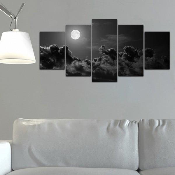 Viacdielny obraz Black&White no. 83, 100x50 cm