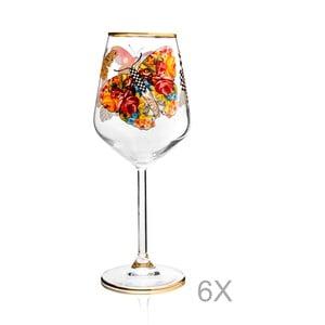 Sada 6 pohárov Mezzo Pandaren, 320 ml