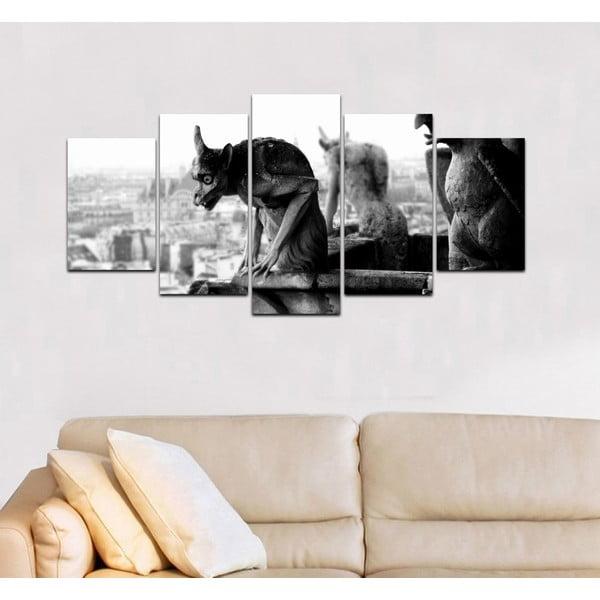 Viacdielny obraz Black&White no. 54, 100x50 cm