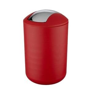 Červený odpadkový kôš Wenko Swing Red L