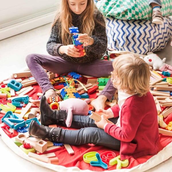 Podložka na hranie a vrece na hračky v jednom Play and Go Diamond Green