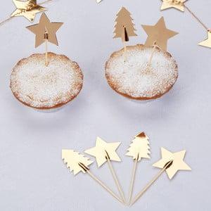 Sada 20 špáradiel s ozdobami Neviti Dazzling Christmas