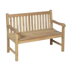 Zahradná dvojmiestna lavica z teakového dreva ADDU Solo
