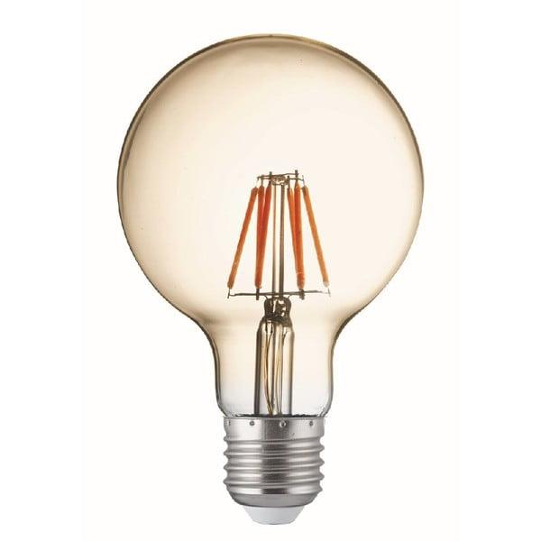 Set 5 žiaroviek Filament Globe E27 60W