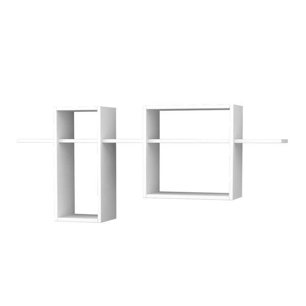 Polica Bozo 60x142 cm, biela