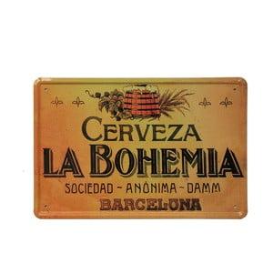 Ceduľa La Bohemia, 20x30 cm
