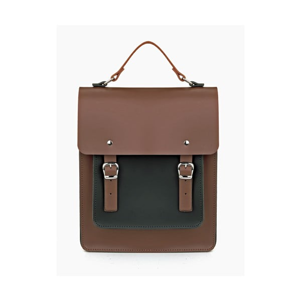 Kožený batoh Howson Chestnut/Black