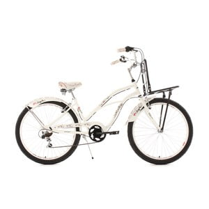 Bicykel Beachcruiser Cargo White, 26""