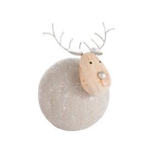 Vianočná dekorácia J-Line Reindeer Ball