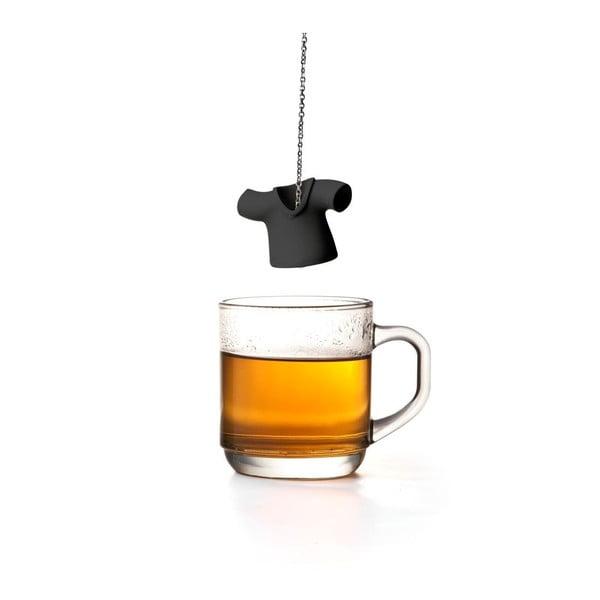 Čierne čajové sitko Qualy Tea Shirt