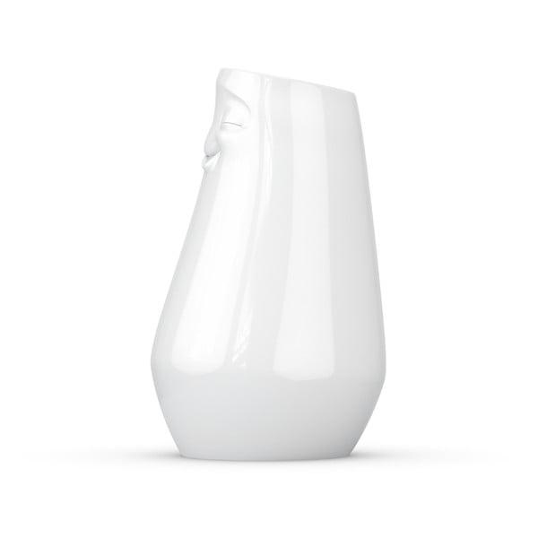 Biela spokojná váza z porcelánu 58products