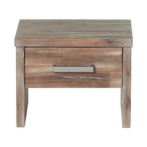 Nočný stolík z akáciového dreva Woodking Albus II.