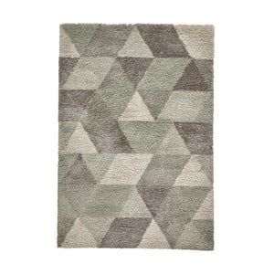 Sivo-zelený koberec Think Rugs Royal Nomadic Grey & Aqua Green, 160 × 220 cm