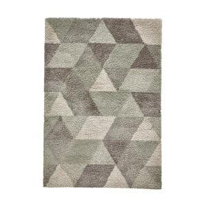 Sivo-zelený koberec Think Rugs Royal Nomadic Grey & Aqua Green, 160×220 cm