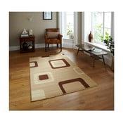 Béžový koberec Think Rugs Diamond, 120x170cm