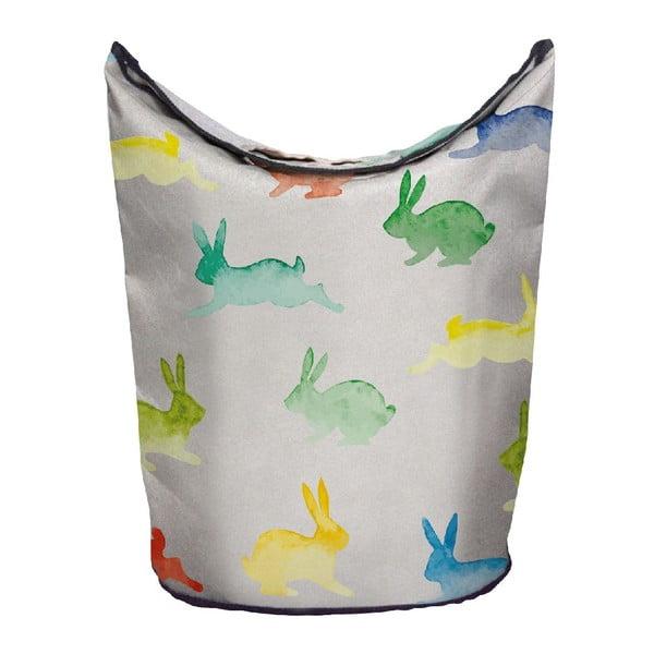 Kôš na bielizeň Watercolour Rabbits