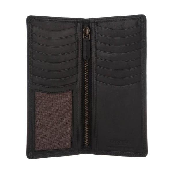Kožená peněženka Hamilton Oxford Black
