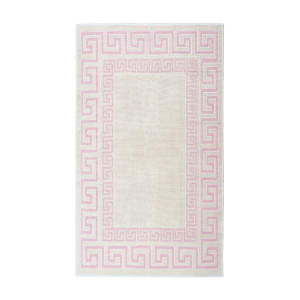 Krémový bavlnený koberec Floorist Maisha, 100x200cm