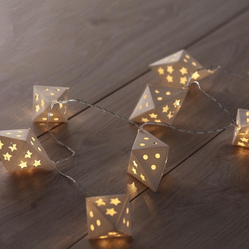LED svetelná reťaz DecoKing Richi, 10 svetielok, dĺžka 1,65 m