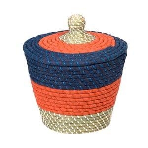 Ručne vyrábaný úložný kôš a'miou home Winnan, ⌀ 20 cm