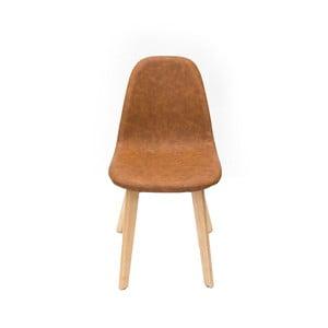 Svetlohnedá jedálenská stolička LABEL51 Urban