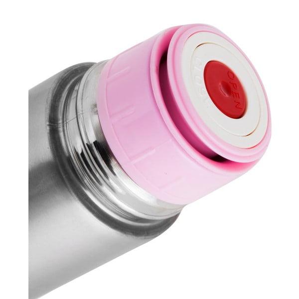 Ružová antikoro termofľaša Taşev Telas, objem 500 ml
