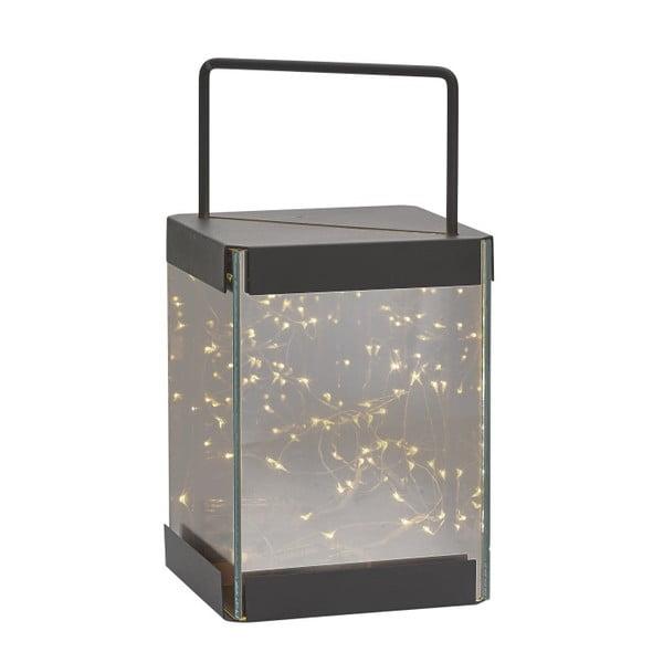 Lampáš s LED svetielkami Villa Collection Quadro, 30 cm