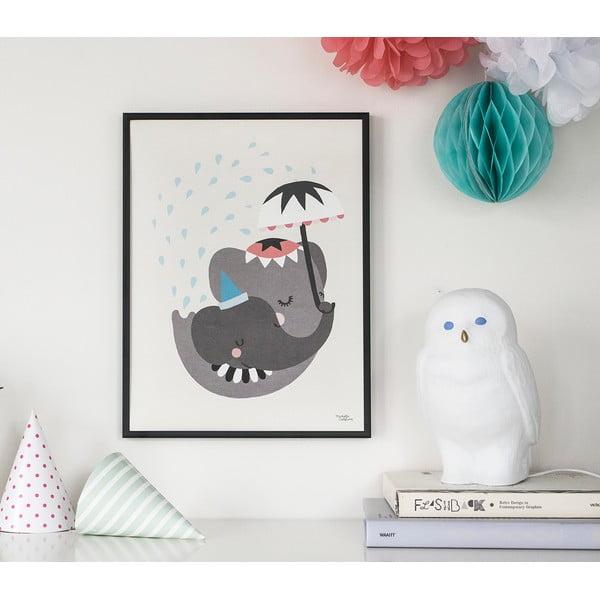 Plagát Michelle Carlslund Elephant Love, 30x40cm