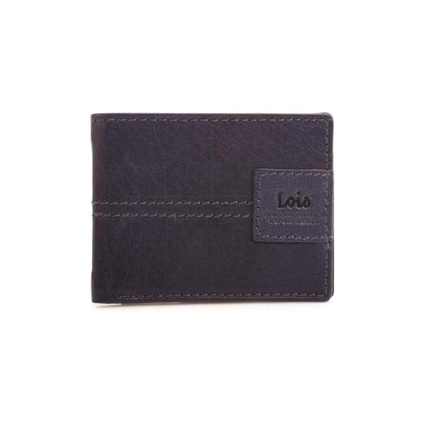 Kožená peňaženka Lois Navy, 10,5x7,5 cm