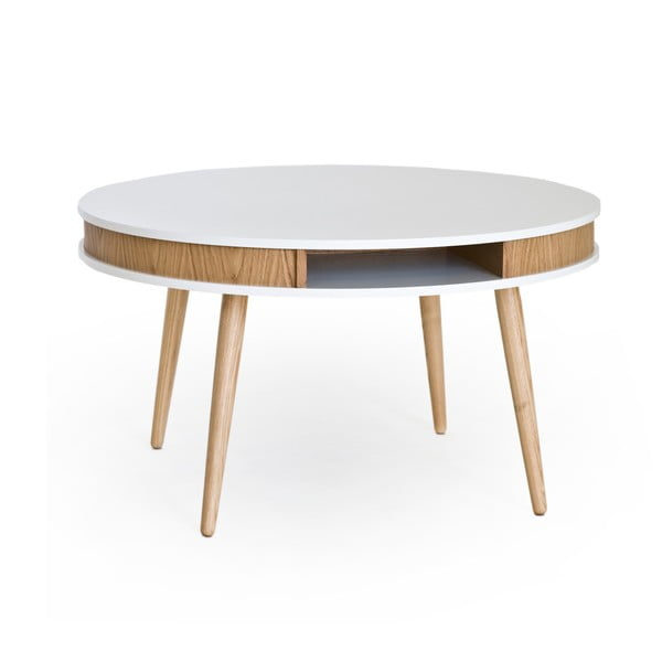 Konferenčný stolík Hugo 90 cm, dub