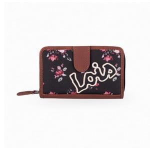 Peňaženka Lois Roses, 14x9 cm