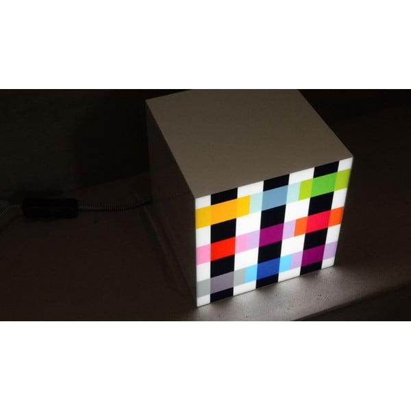 Lampička Remember Cube Light Colour Caro