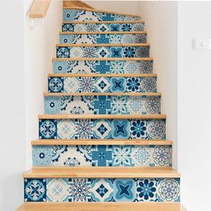 Sada 2 samolepiek na schody Ambiance Stairs Stickers Unibelos, 15 × 105 cm