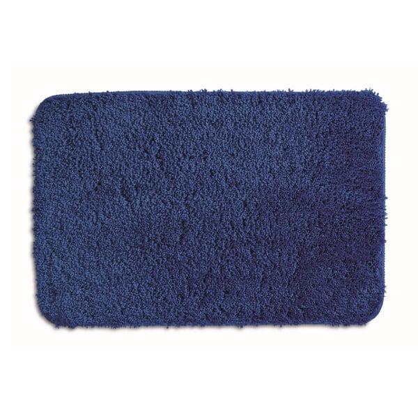 Modrá kúpeľňová podložka Kela Livana, 80x50cm