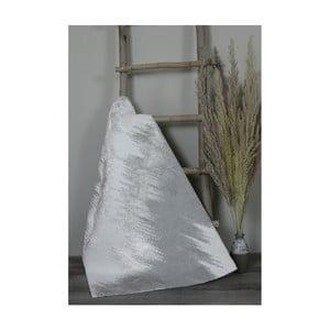 Svetlosivá bavlnená kúpeľnová predložka My Home Plus Sensation, 70×130 cm