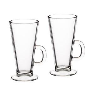 Dva sklenené hrnčeky na latte Kitchen Craft Le'Xpress, 325 ml