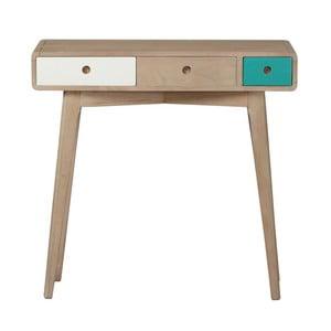 Konzolový stolík zmasívneho mangového dreva Woodjam Play Light