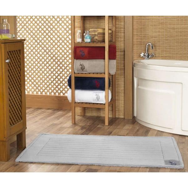 Kúpeľňová predložka U.S. Polo Assn. Grey, 70 x 120 cm