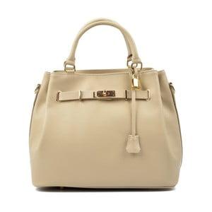2d33e6d5f9 Béžová kožená kabelka Isabella Rhea Hannah