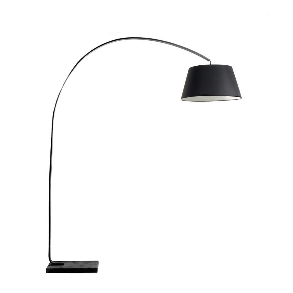 Čierna stojacia lampa Design Twist Carolei