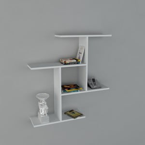 Polica Safe Book White, 22x91x94,5 cm