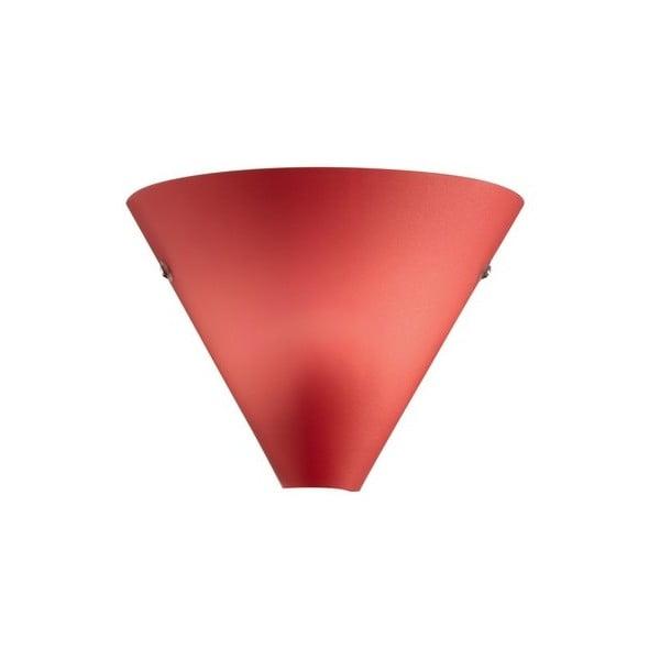 Nástenné svetlo Coctail Rosso, 20x17 cm