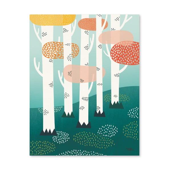 Plagát Michelle Carlslund Forest, 30x40cm