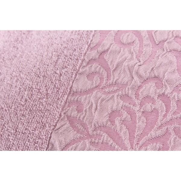 Sada 2 uterákov Burumcuk Dusty Rose, 50x90 cm
